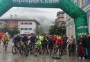 Más de 50 ciclistas participaron en la  XI Jornada Solidaria del Deporte, con la novena ruta MTB