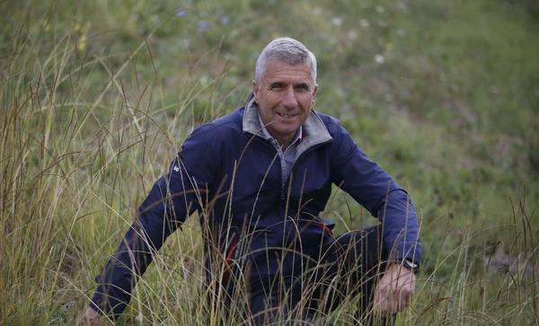 Marcelino Martínez, alcalde de Sobrescobio.