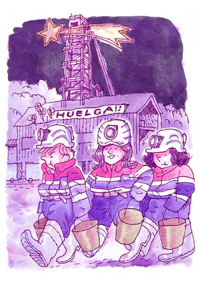 Cuencalendario: Enero, el carbón de Reyes