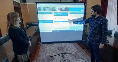 Presentación de la nueve sede electrónica del Ayuntamiento de Langreo.