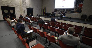 Reunión del patronato de la Fundación del Museo de la Minería y de la Industria (MUMI).
