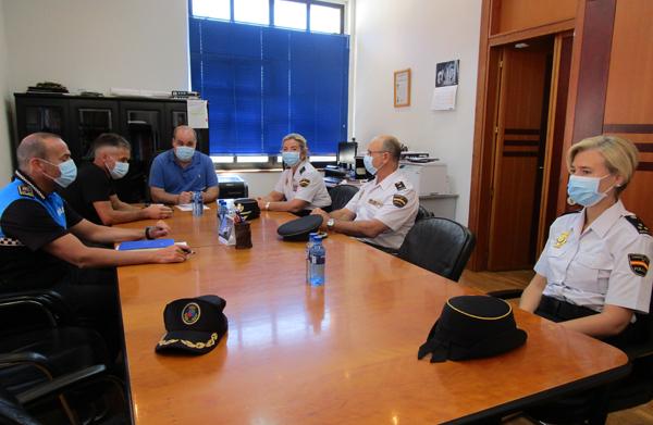 La Policía Local y la Policía Nacional potenciarán su colaboración en San Martín