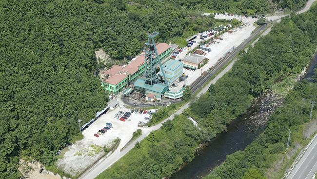 Vista aérea del Pozo Carrio.