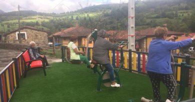 Nuevo parque gerontológico en Soto de Agues.