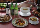 Platos que conforman el menú de las Jornadas Gastronómicas del Cabritu en Laviana.