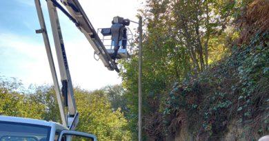 San Martín comienza la  renovación de las 3.100 luminarias del alumbrado rural
