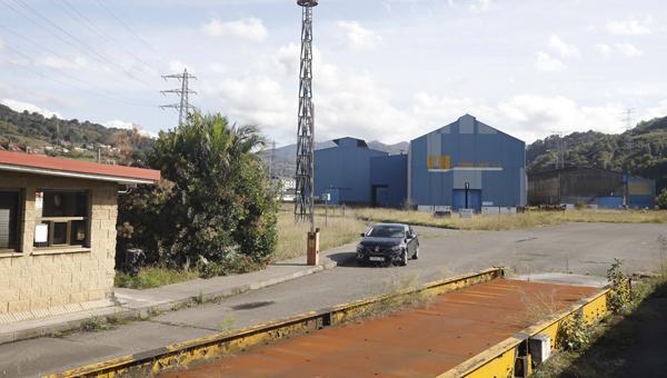 Instalaciones de la antigua fabrica de Felguera Melt.