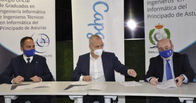 Capgemini y los colegios profesionales de Ingenieros e Ingenieros Técnicos en Informática de Asturias renuevan su colaboración por séptimo año consecutivo