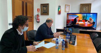 Reunión telemática entre el alcalde, José Ángel Álvarez 'Quirós' y la viceconsejera de Medio Ambiente, Nieves Roqueñí.