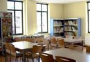 Sala de estudios de la Casa de Cultura de El Entrego.