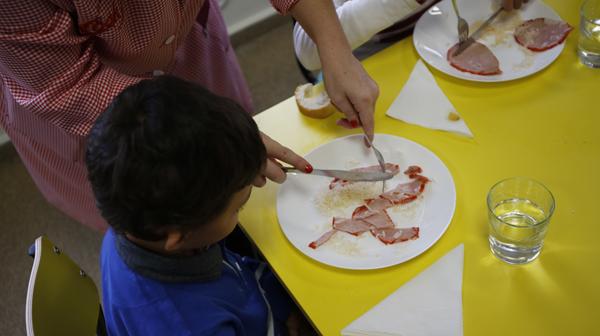 comedor escolar del colegio el coto de el entrego smra